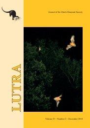 Lutra 53-2 - Nieuw in de Zoogdierwinkel