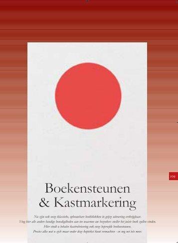 Boekensteunen & Kastmarkering - Eurobib