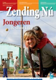 2009 mei-juni | Jongeren & short term - Evangelische ...