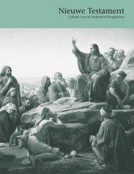 Nieuwe Testament — lesboek voor de leerkracht Evangelieleer