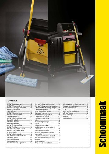 Schoonm aak - Rubbermaid Commercial Products