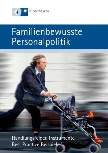 Familienbewusste Personalpolitik
