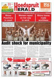Audit shock for municipality - Letaba Herald