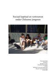 Sociaal kapitaal en vertrouwen - Radboud Universiteit