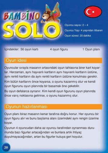 Bambino solo a13 regel:layout 1 - AMIGO Spiel + Freizeit ...