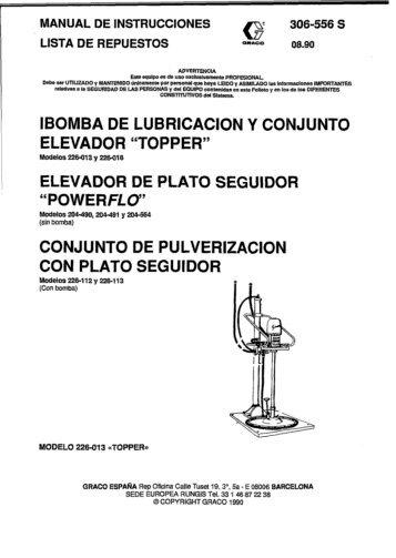 ' LISTA DE REPUESTOS 03.9o