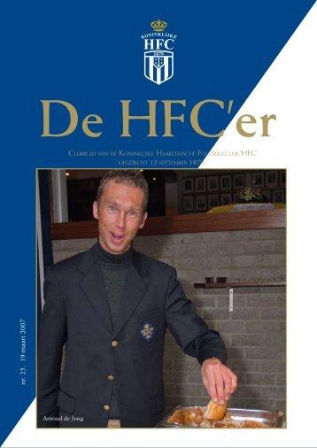 nr. 25. 19 maart 2007 - Koninklijke HFC