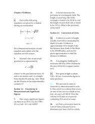 CP7e: Ch. 1 Problems