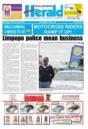 Limpopo police mean business - Letaba Herald