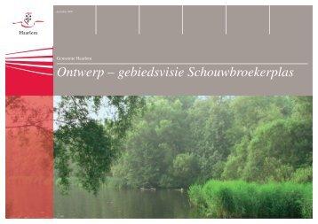 Ontwerp – gebiedsvisie Schouwbroekerplas