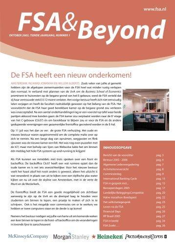 FSA& Beyond