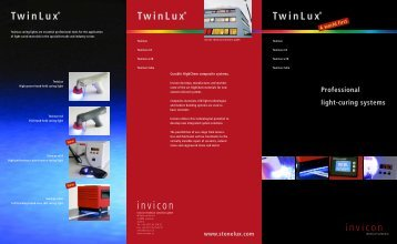 Twinlux flyer - Invicon Chemical Solutions Gmbh