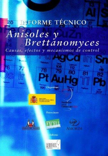 anisoles y brettanomyces - Fundación para la Cultura del Vino