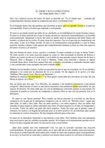 C4 - EL AMOR Y SUS CUATRO ETAPAS.pdf - Tecnologias Sagradas