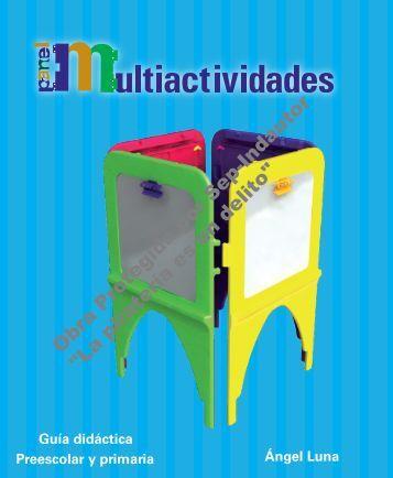 Panel Multiactividades Preescolar - Sepdf.gob.mx