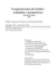 Cooperativismo de Crédito: realidades e perspectivas - Cecremef