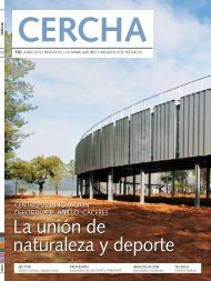 revista CERCHA - Consejo general de arquitectura técnica de España