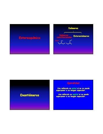 Teórica Estereoquímica