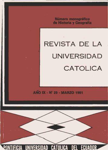 Revista 29.pdf - Pontificia Universidad Católica del Ecuador