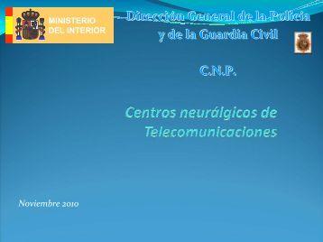 Centros neurálgicos de Telecomunicaciones