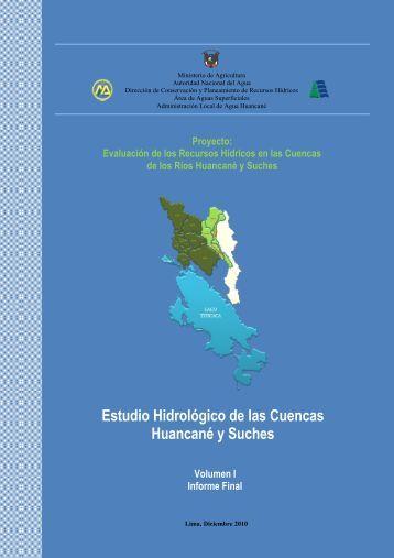 Estudio Hidrológico de la Cuenca del río Ilave 2008 - Autoridad ...