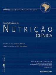Volume 24 número 2 - Sociedade Brasileira de Nutrição Parenteral ...