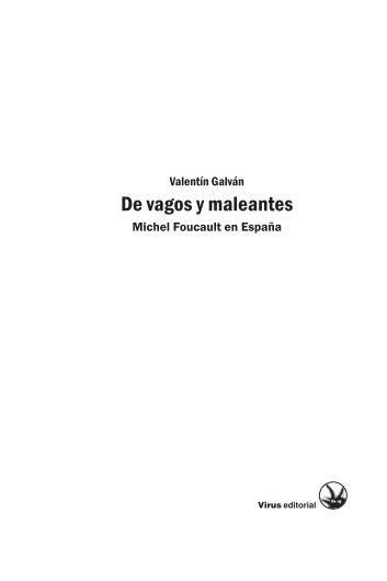 De vagos y maleantes - Virus Editorial
