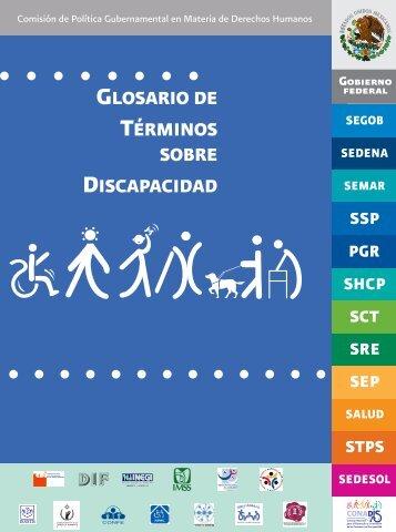 GLOSARIO DE TÉRMINOS SOBRE DISCAPACIDAD - IMSS