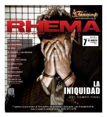 Descargar Revista Rhema2.3 MB - Ministerios Ebenezer Guatemala