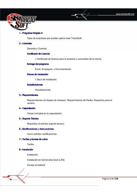 Tipos de soporte tecnico pdf
