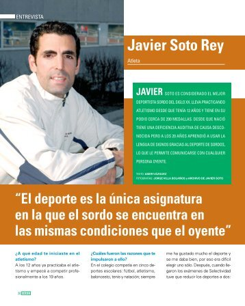 20 a 24 ENTREV JAVIER SOTO - Javi Soto Rey