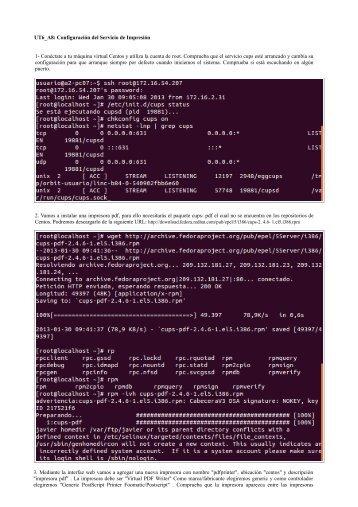 UT6_A8: Configuración del Servicio de Impresión 1- Conéctate a tu ...
