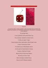 Obras seleccionadas y premiadas IX Premio de Poesía ... - Boek 861