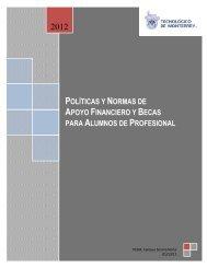Reglamento de Apoyo Financiero y Becas - Campus Sonora Norte ...