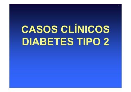 casos clínicos de diabetes tipo 2
