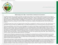 Rafael Quispe, de la CAOI - Plataforma de Cambio Climático