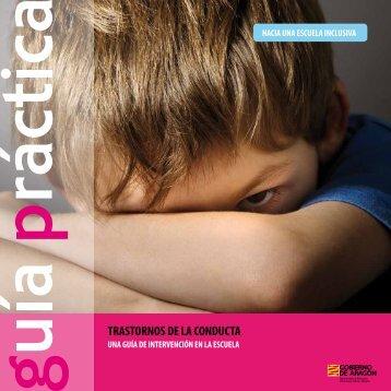 trastornos de la conducta - Orientación Educativa en Aragón ...