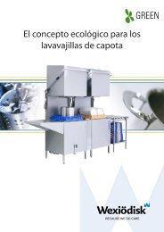El concepto ecológico para los lavavajillas de capota - Santos Innova