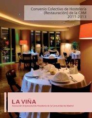 Convenio Colectivo de Hostelería (Restauración) de la ... - La Viña