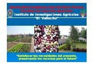 Su carencia causa - Fundación Agrecol Andes