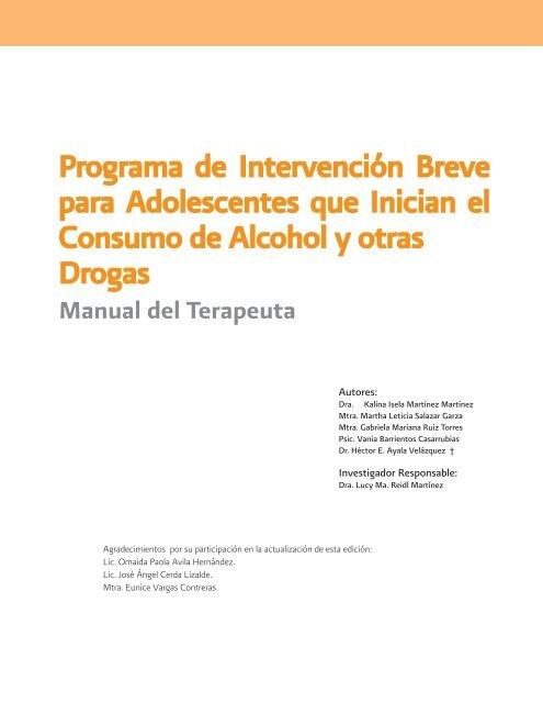 Programa De Intervención Breve Para Adolescentes Centro