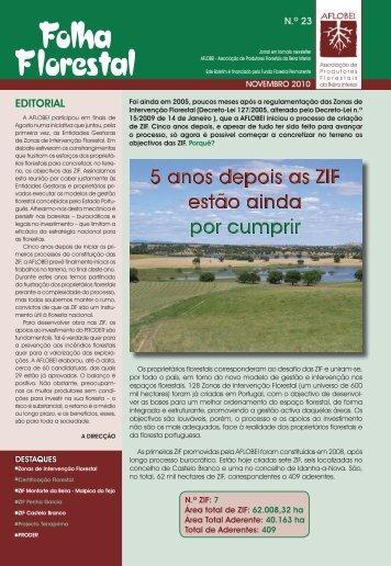 Folha Florestal nº 23 - AFLOBEI