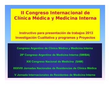 Ejemplos presentación Investigacion Cualitativa y Programas
