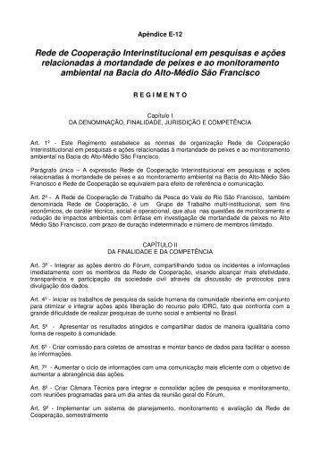 Proposta para o estatuto da Rede Cooperação