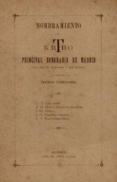 PRINCIPAL HONORARIO DE MADRID