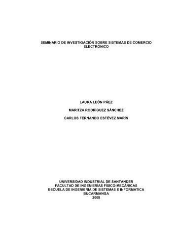 seminario de investigación sobre sistemas de comercio electrónico ...