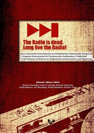 Radio is dead-Long live the Radio.pdf - Universidad del País Vasco