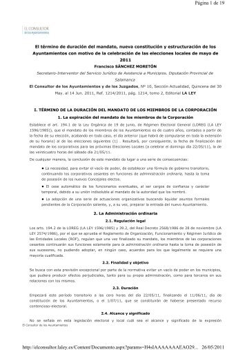 Página 1 de 19 26/05/2011 http://elconsultor.laley.es/Content ...