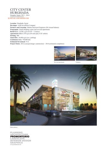 CITY CENTER HURGHADA - Promontorio