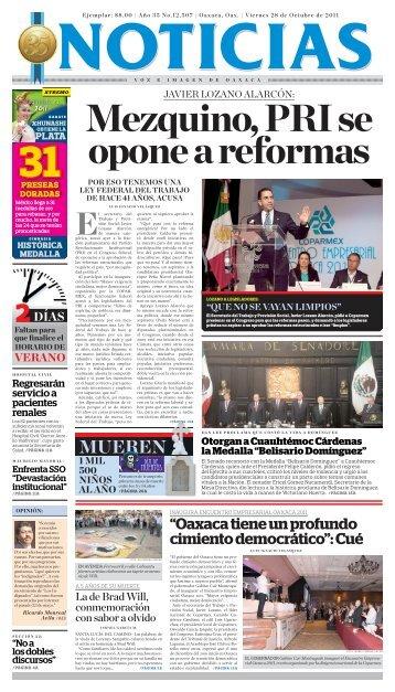 PAGA HOY - Noticias Voz e Imagen de Oaxaca